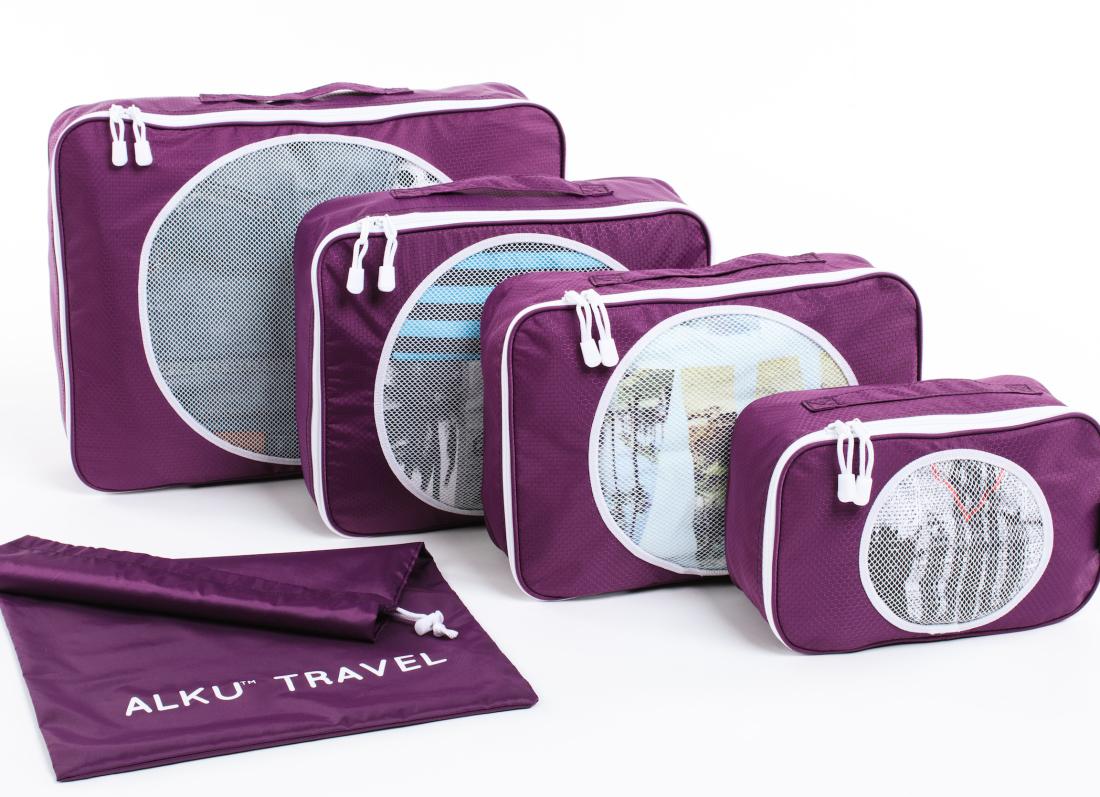 Alku Travel Packing Cubes 4 Set w