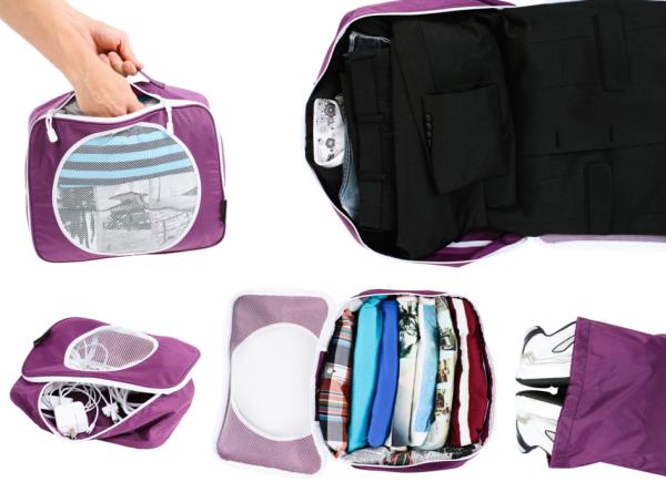 Alku Travel Packing Cubes Set for men